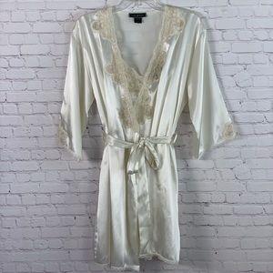 Vintage Halston 2 Piece Lingerie Sleepwear Sz L/XL